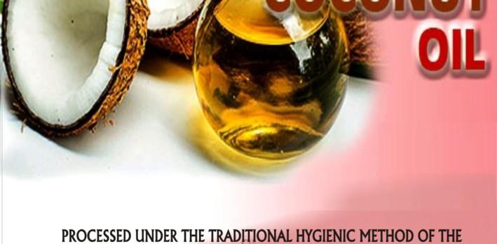 VIRGIN COCONUT OIL FROM BADAGRY